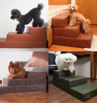 iDog&iCat 小型犬のための階段状の踏み台【iDog Living】iStep アイステップの新作発売